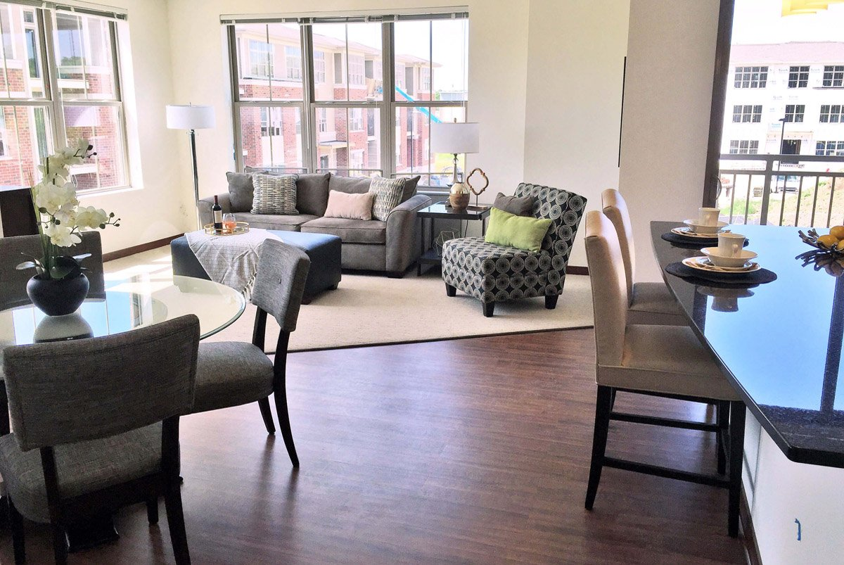 Marvelous Living Room Setup With Rental Furniture From Brook Furniture Rental At Lily  Perserve