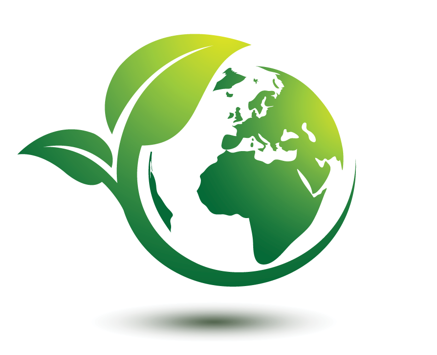 Eco Friendly Image Green Leaf Wring A Earth