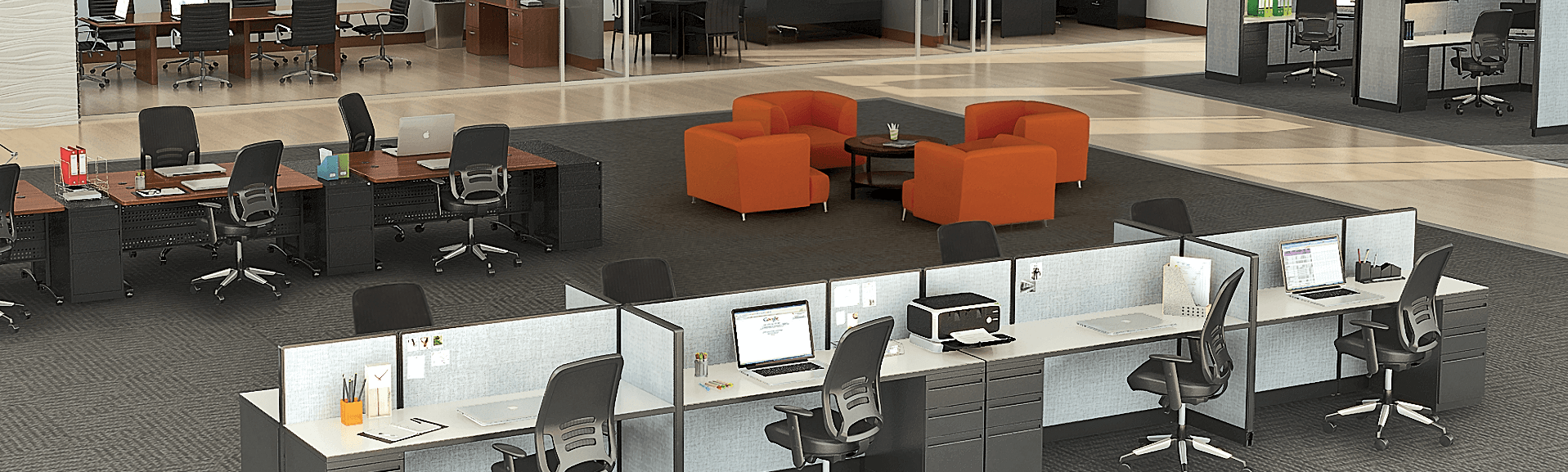 Office Furniture: Office Staging – Commercial Staging & Rental