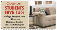 15% Off For College Students
