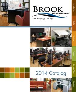 Brook Furniture Rental's Commercial Interactive Brochures