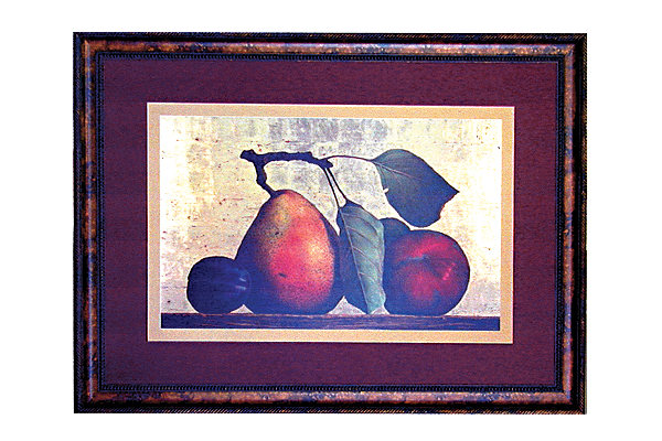 Pear Plum & Apple Picture