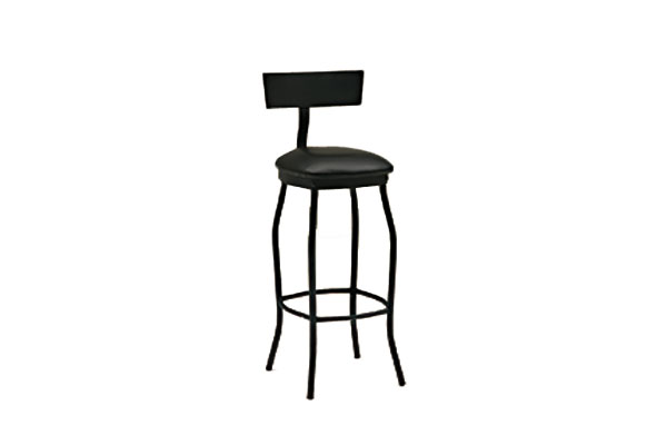 "Black 30"" City Bar Stool"