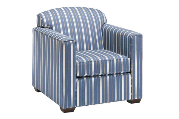 Chambray Stripe Chair
