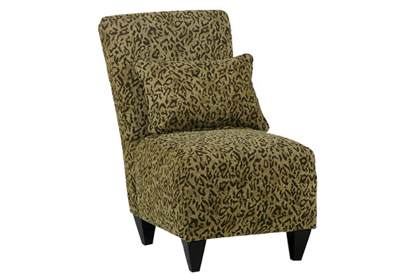 Cheetah Slipper Chair