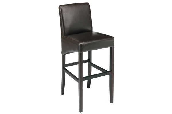 "Coco 30"" Leather Bar Stool"