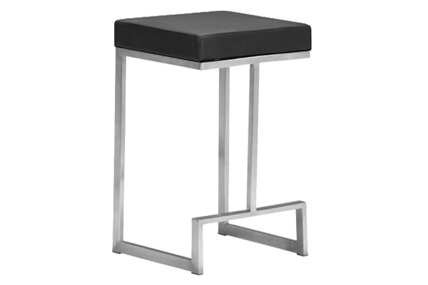 Darwin Black Counter Stool
