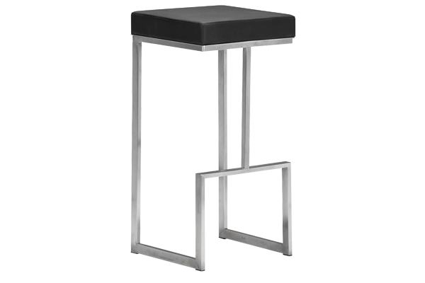 Darwin Black Bar Stool