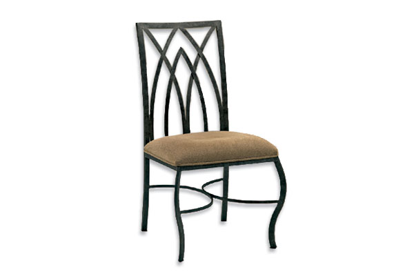 Gothic Dining Chair With Coin Seat