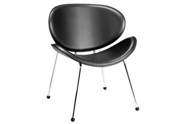 Match Black Dining Chair