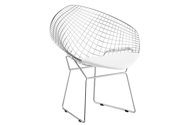 Net White Dining Chair