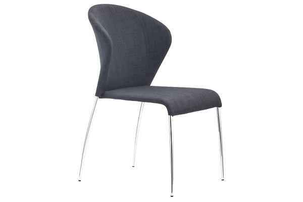 Oulu Graphite Dining Chair