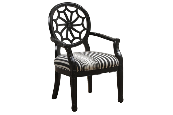 Pierce Black Spider Chair