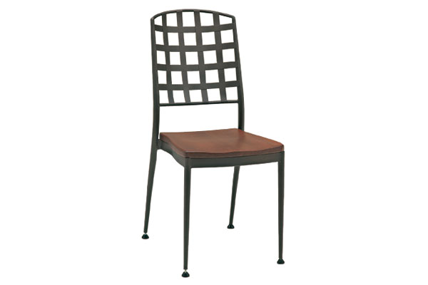 Plank 38 Iron Wood Dining Chair For Rent Brook Furniture Rental