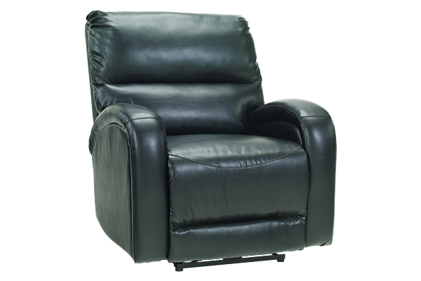 Powered Black Recliner