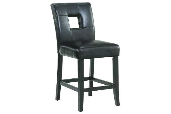 "Window Black 24"" Counter Stool"