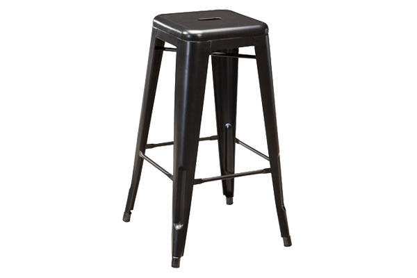 Xavier Graphite Bar Stool
