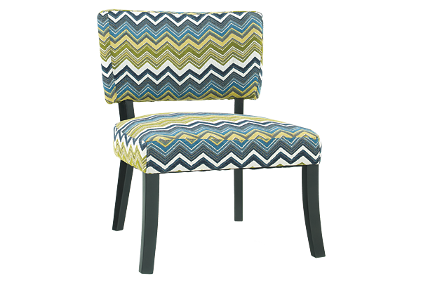 Zag Armless Chair
