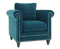 Luxe Teal Chair