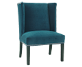 Luxe Teal Wing Chair