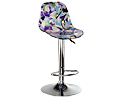 Pucci Floral Bar Stool