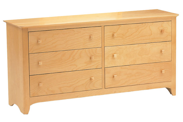 Sandalwood 64in Dresser