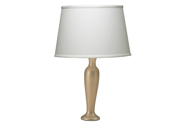 Slim Urn White Gold Lamp
