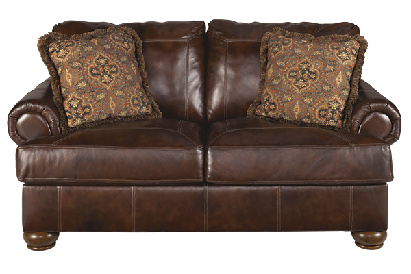 Axiom Leather Loveseat