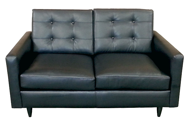 Ford Black Loveseat