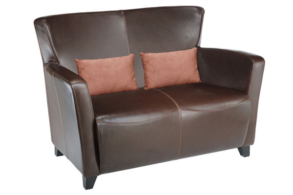 Oslo Leather Loveseat