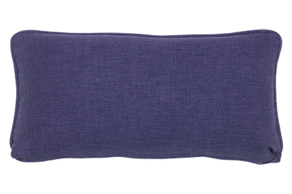 Blackberry Loom Kidney Pillow