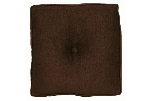 Chocolate Square Pillow