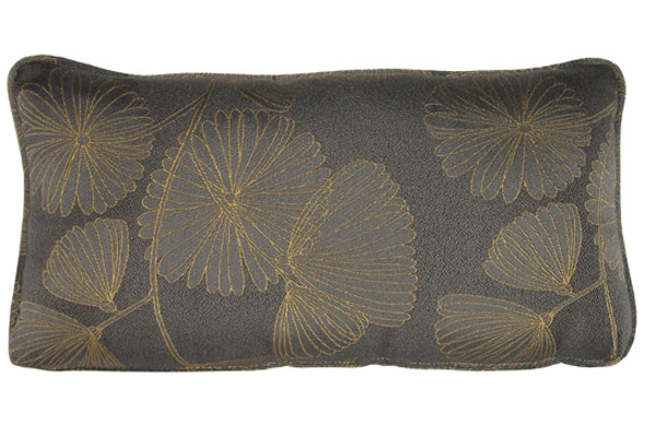 Graphite Kidney Pillow