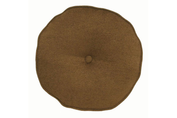 Olive Round Pillow