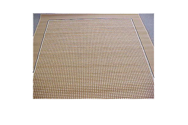 Brown With Brown Banding Rug