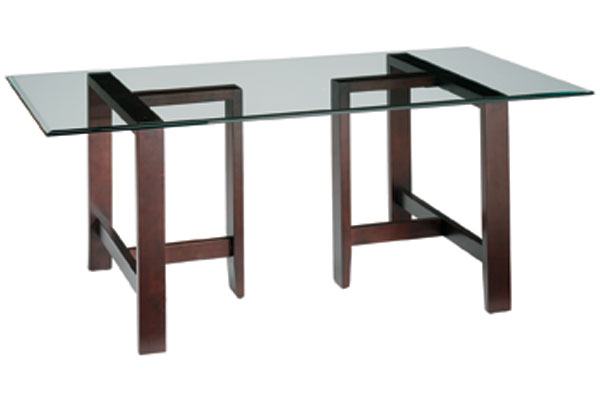 Burbank Glass Dining Table