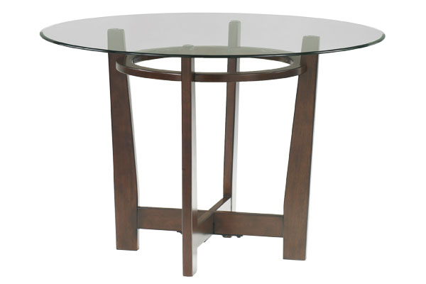Charrell Round Glass Dining Table
