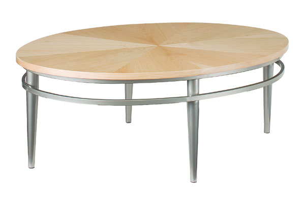 Cosmopolitan Oval Cocktail Table