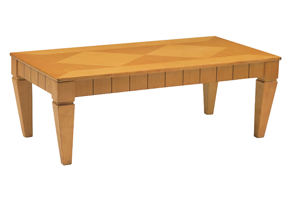 Diamond Maple Rectangle Cocktail Table