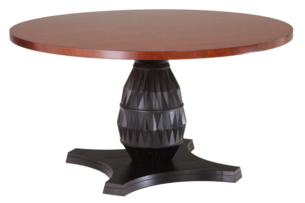 Klismos Round Dining Table for Rent Brook Furniture Rental : klismos 0402102 lrg from www.bfr.com size 600 x 400 jpeg 20kB
