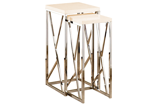 Mirage Nesting Accent Tables
