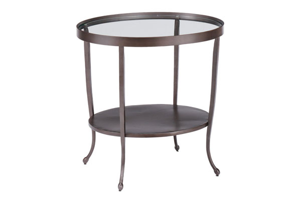 Palermo Round End Table