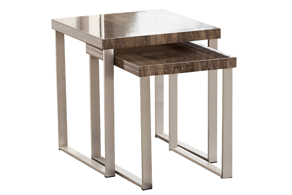 Tangle Nesting End Table 2pc For Rent Brook Furniture Rental