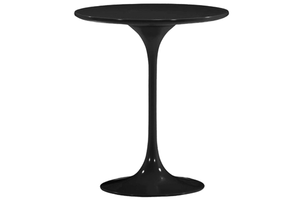 Wilco Round Black Side Table