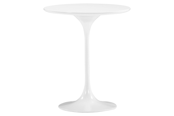 Wilco Round White Side Table