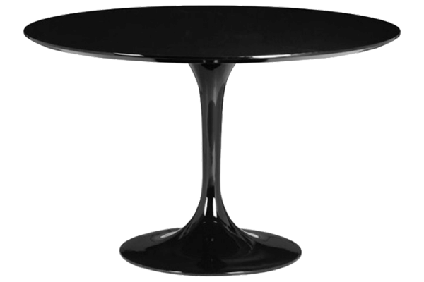 Wilco Black Round Dining Table