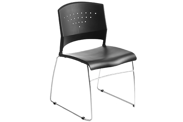 Oc Boss Stack Chair-Armless
