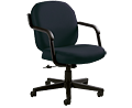 Commerce Black Lo-Back Executive Chair