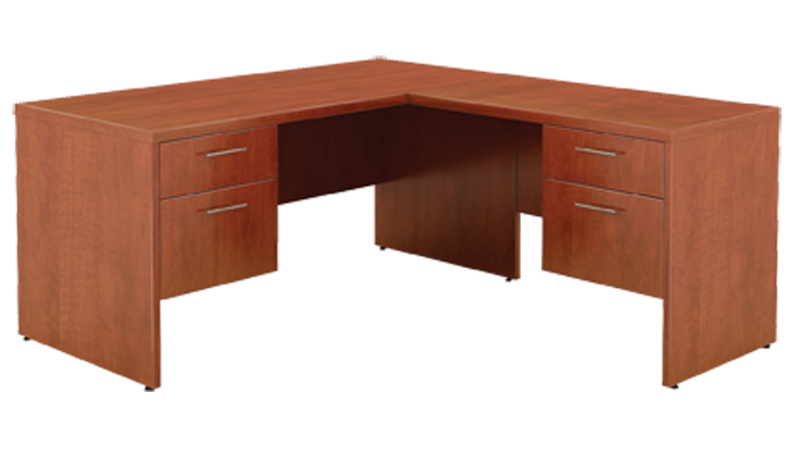 Cognac Right Return Desk
