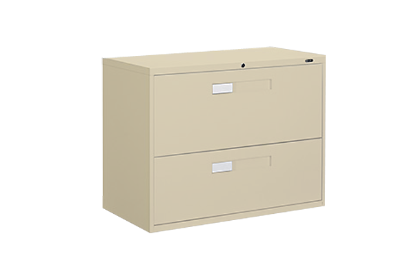 Two Drawer 3ft Putty Lateral File